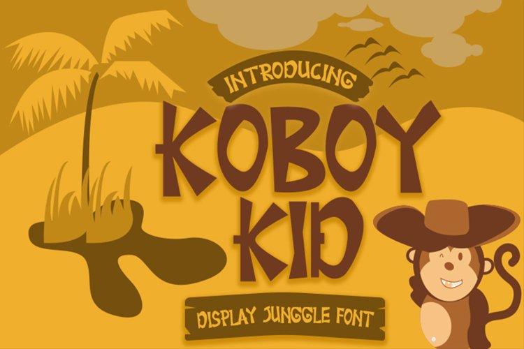 Koboy Kid example image 1