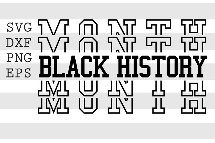 Black History Month SVG example image 1