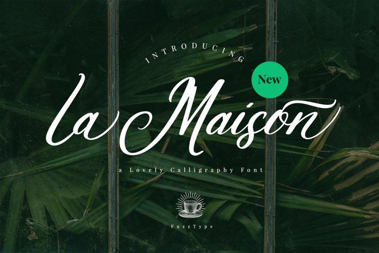 La Maison Script example image 1