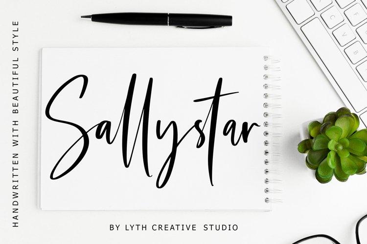 Sallystar Handwritten Font example image 1