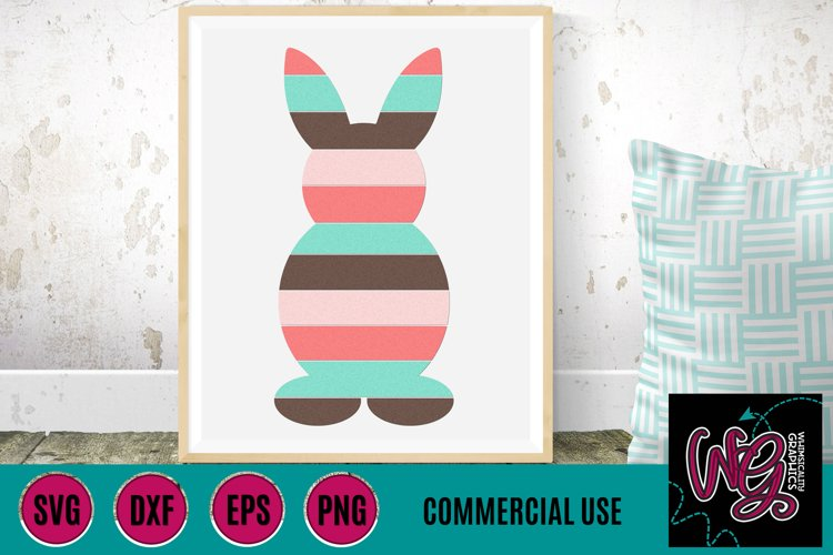 Shiplap Easter Bunny SVG DXF PNG EPS Comm