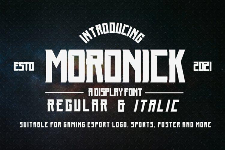 Moronick example image 1