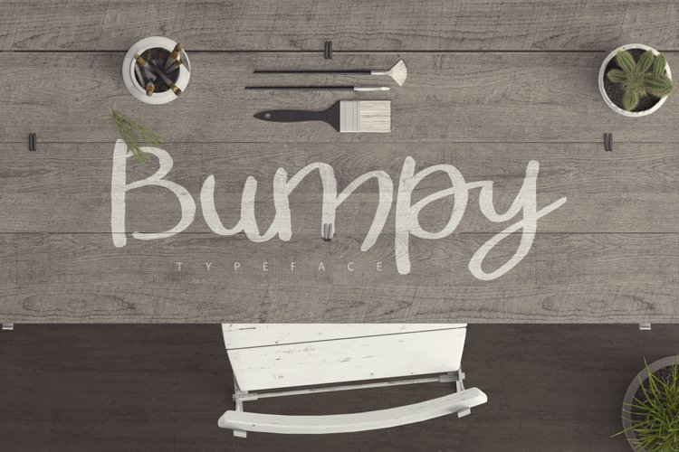 Bumpy Typeface example image 1
