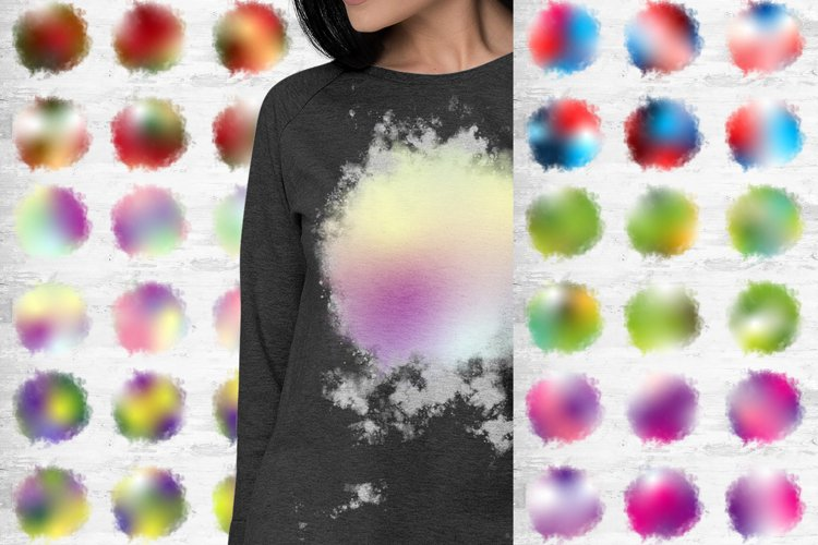 Holiday Ombre Watercolor Background Design Sublimation