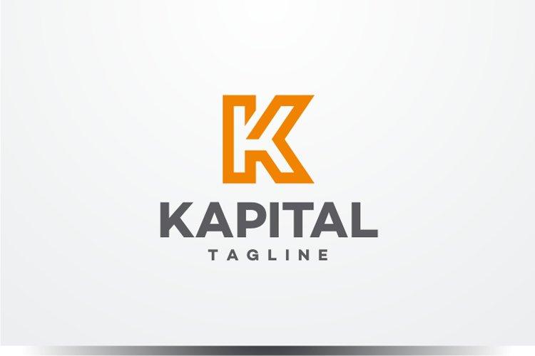 Kapital - Letter K Logo example image 1