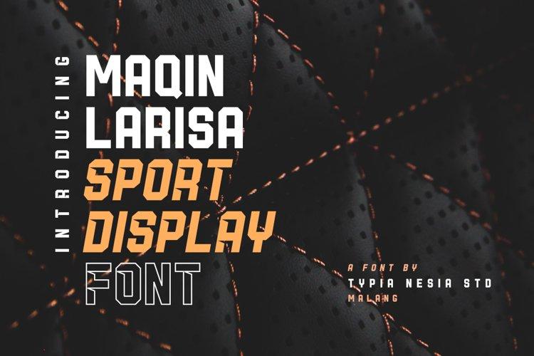 Maqin Larisa Display example image 1