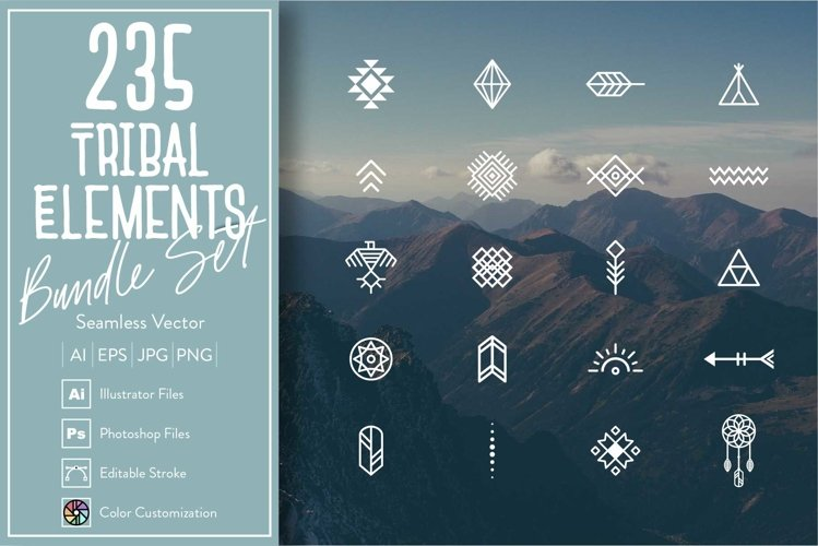 235 Tribal Elements example image 1