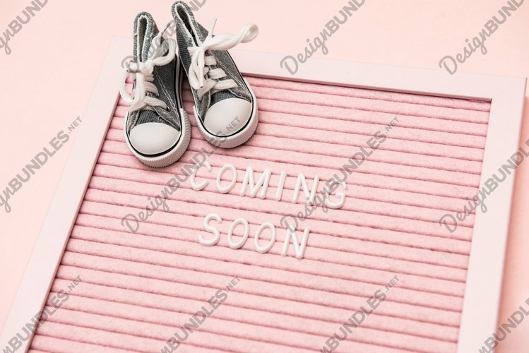 Waiting for labour, maternity concept