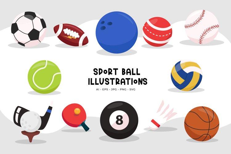 Sport Ball Illustrations