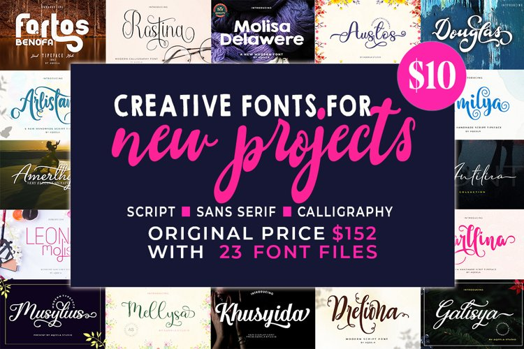 Bundles Creative Fonts for New Projects example image 1
