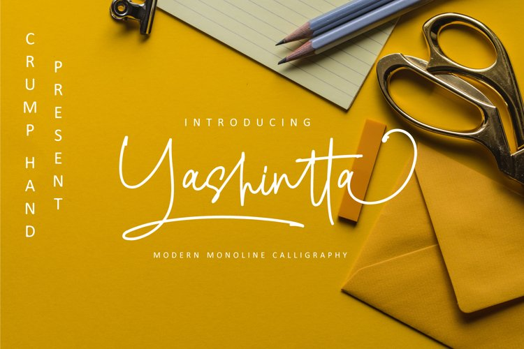 Yashintta Font Duo example image 1