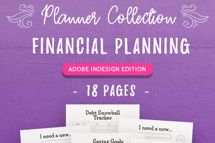 Financial Planning InDesign Template Collection