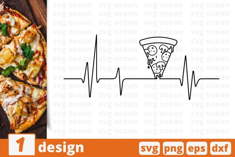 LOVE PIZZA PULSE SVG   Pizza lover svg   Love pizza cricut
