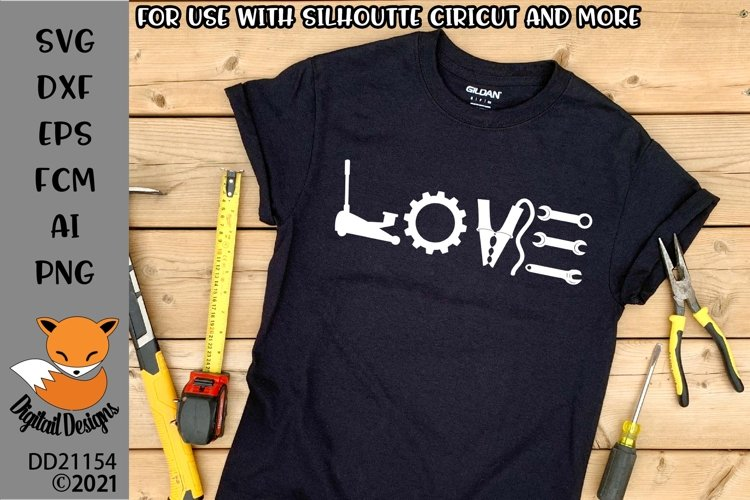Car Mechanic Love SVG