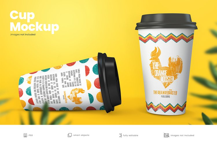 Paper Coffee Cup Mockup 5
