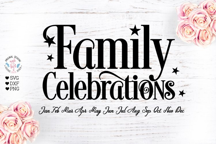 Family Celebrations - Family Birthday example image 1