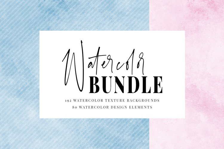 Watercolor Texture Bundle  Bonus