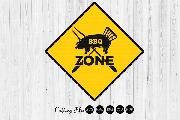 BBQ Zone | Summer | SVG Cut File example image 1