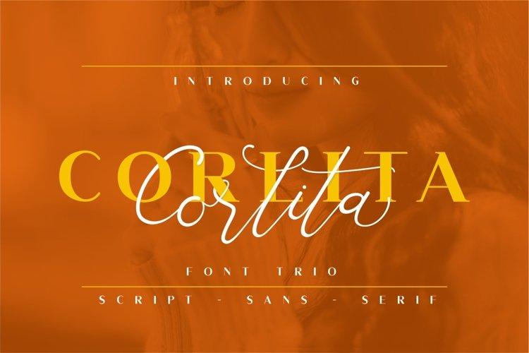 Corlita - Font Trio - Free Font Of The Week Font