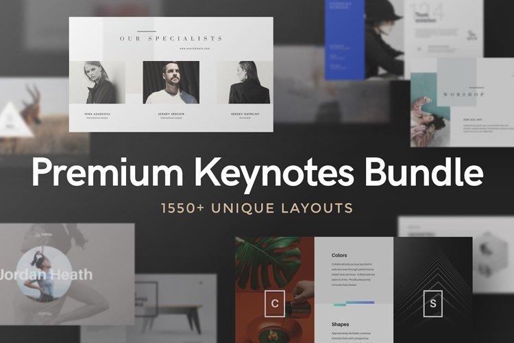 Premium Keynotes Presentation Bundle example image 1