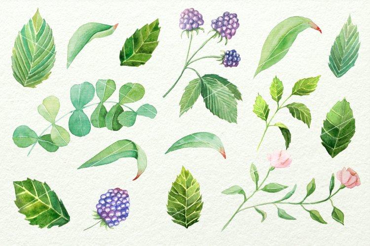 Watercolor Floral DIY Set - Free Design of The Week Design3