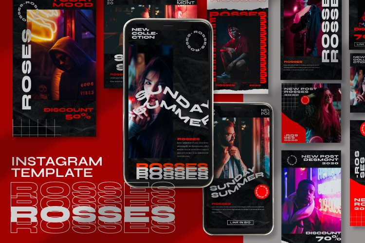 Rosses Instagram Template example image 1