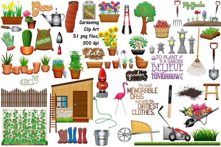 Gardening Clip Art and Graphics Plus Bonus
