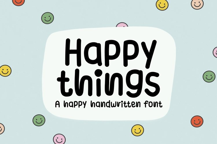 Happy things example image 1