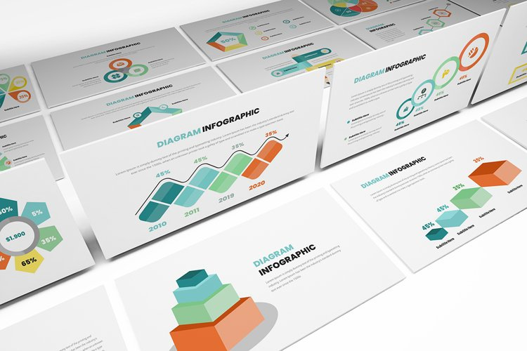 Diagram Infographic Powerpoint Template