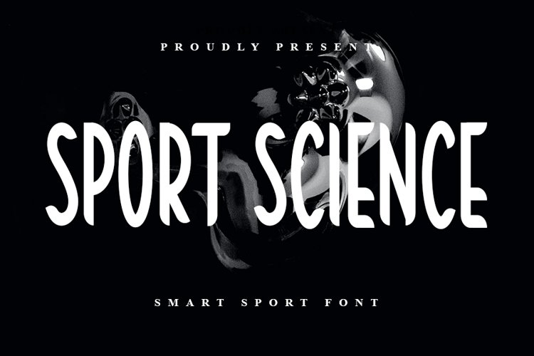 Sport Science - Smart Sport Font example image 1