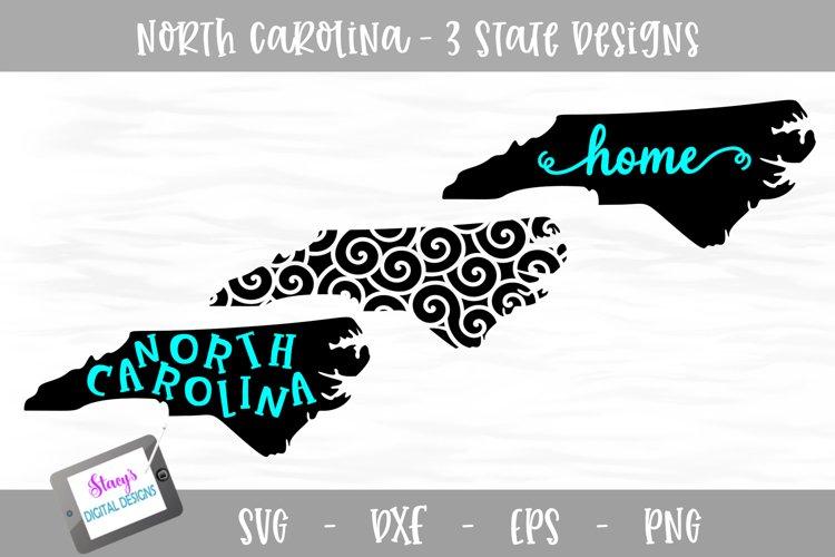 North Carolina Mini Bundle - 3 NC State Designs