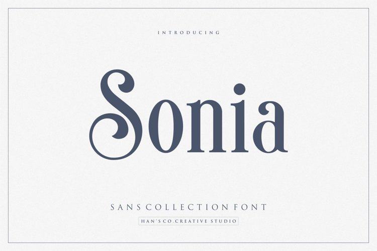Sonia Font example image 1