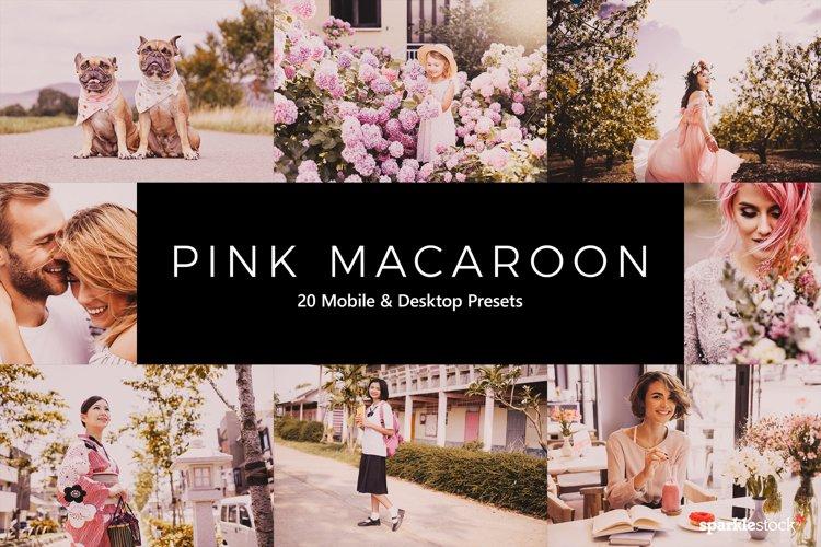 20 Pink Macaroon Lightroom Presets & LUTs example image 1