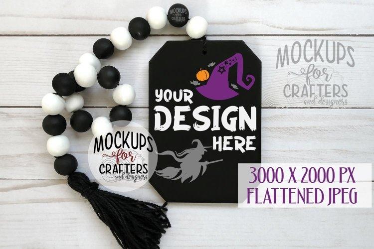 Hanging tag, Halloween theme, MOCK-UP