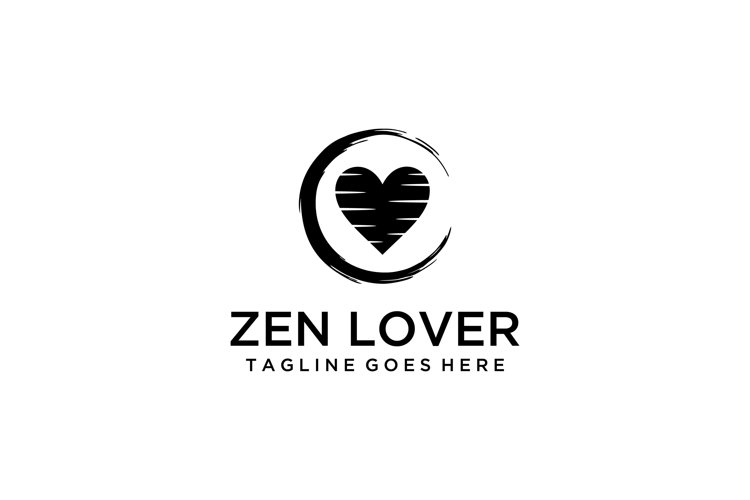 zen and heart sign example image 1