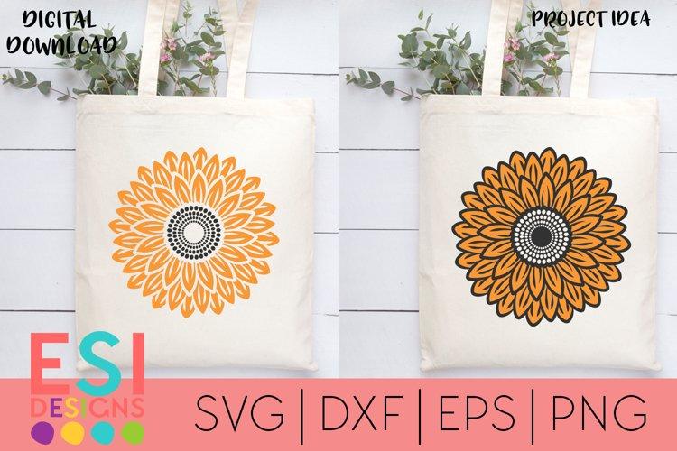 Sunflower SVG| Summer | SVG Cut file | Silhouette Cricut