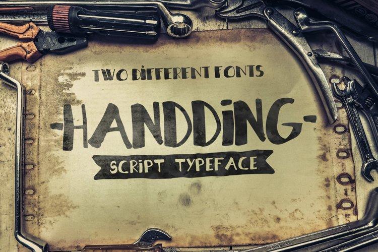 Handding Script Duo example image 1