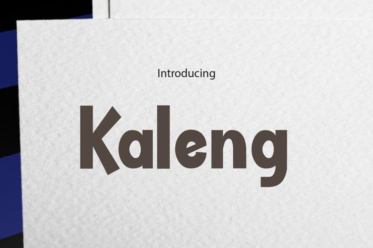 Kaleng example image 1