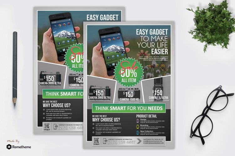 Product Promotion Flyer vol. 04 example image 1