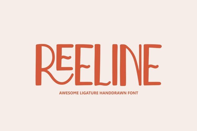 Reeline - Awesome Ligature Font example image 1