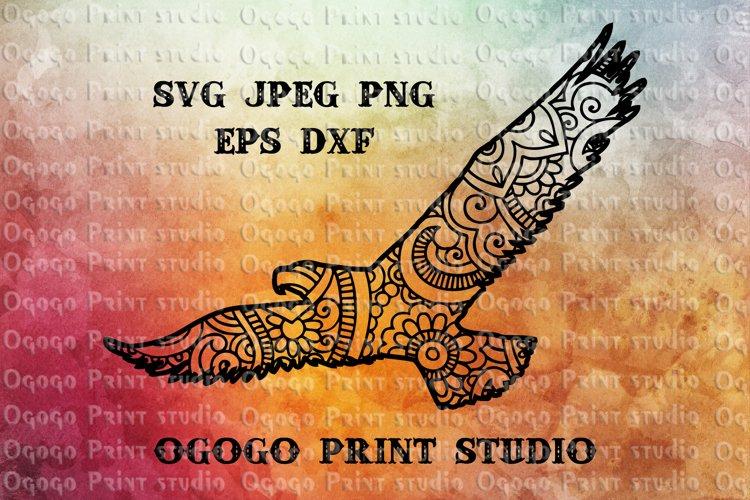 Eagle SVG, Mandala svg, Zentangle SVG, Independence svg, USA