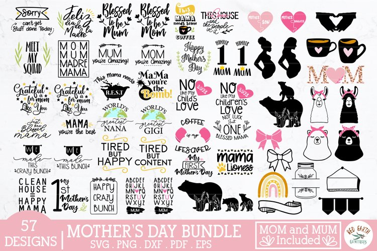Mothers Day SVG bundle,mom svg,mum svg,mom quotes,mom bear