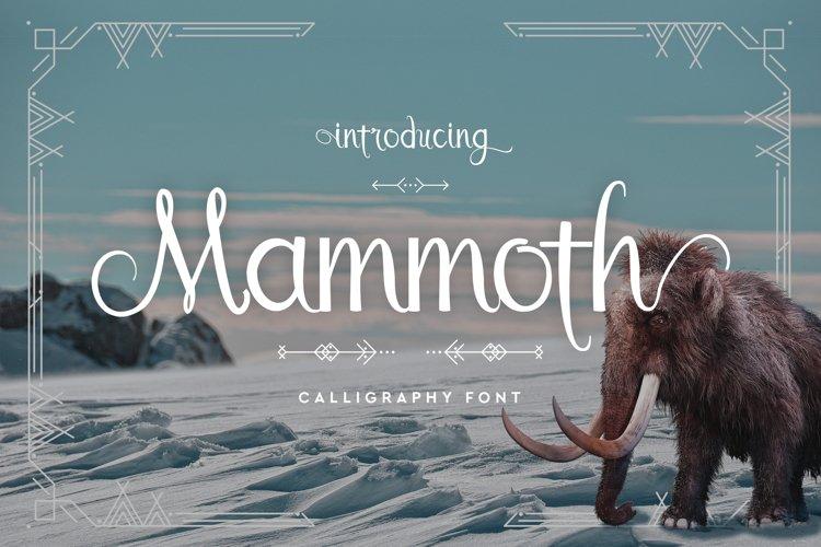 Mammoth example image 1
