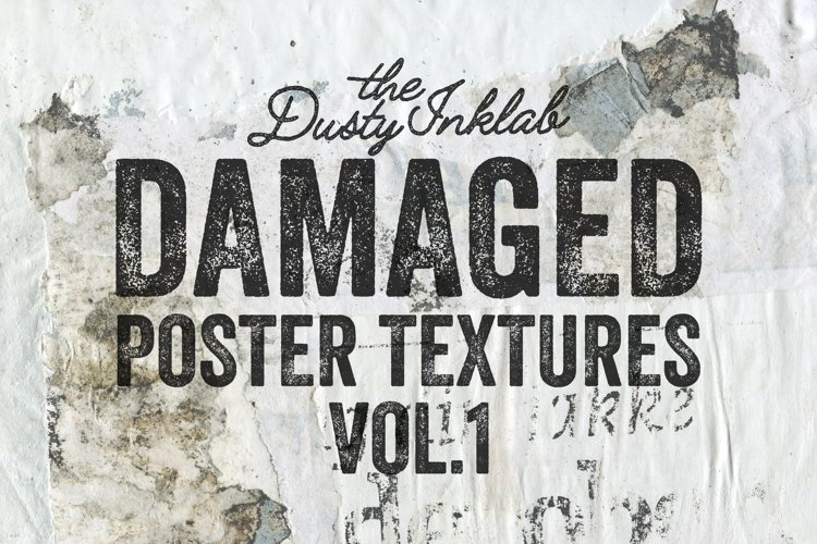 Damaged Poster Texture Vol. 1
