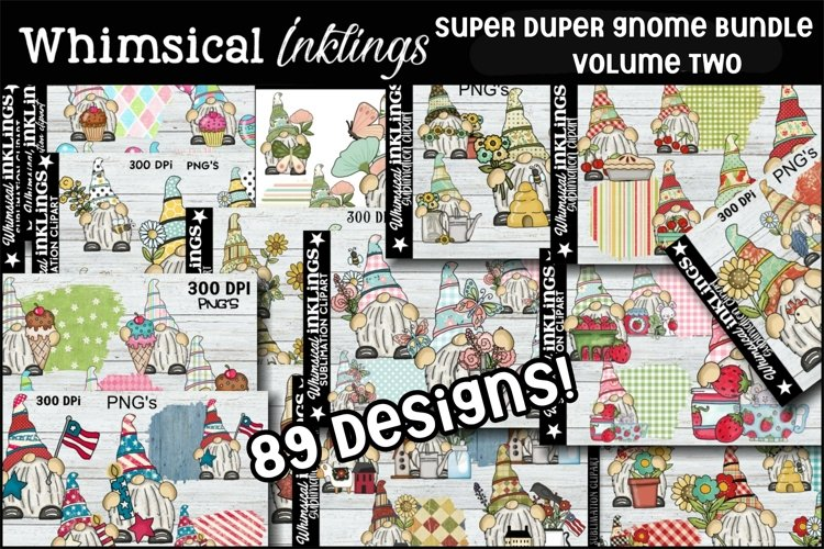 Super Duper Gnome Sublimation Bundle VOLUME TWO