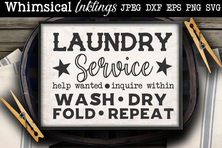 Laundry Service SVG