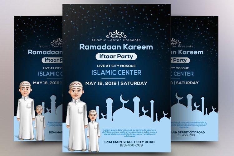Ramdaan Iftar Flyer