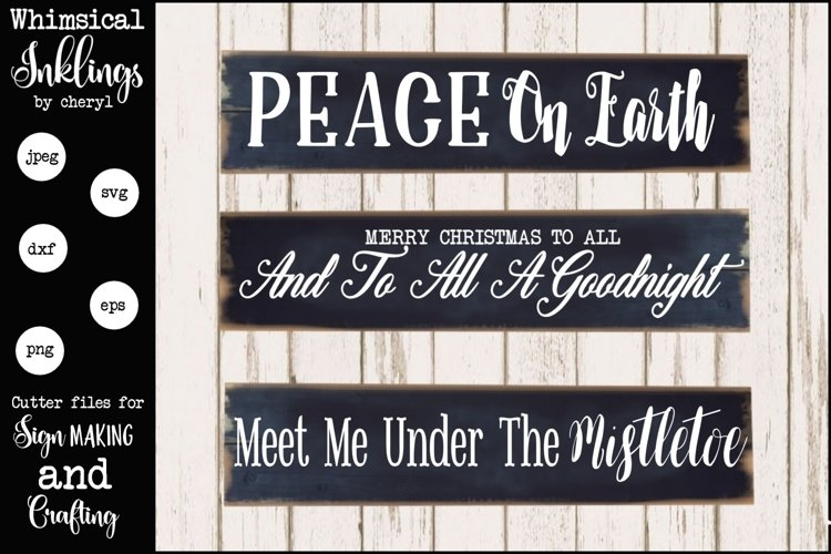 Peace On Earth SVG Set example image 1