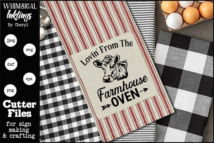 Farmhouse Oven SVG example image 1