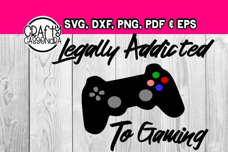 Video game - Legally addicted to gaming - teen boys - DIY example image 1